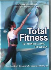 Total Fitness 12 Minutes a Day for Women DVD Stamina Strength Flexibility XBX