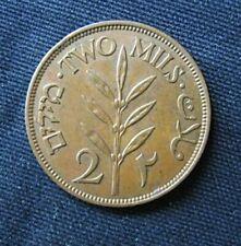 Munt Palestina/Palestine: 2 Mils 1941 (Brons)