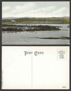Old Pennsylvania Postcard - Harrisburg - Bird's Eye View of Water Filter Plant