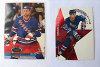 1993-94 Stadium Club #312 Zubov Sergei  member's only parallel  rangers