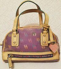 DOONEY & BOURKE Coated Canvas Small Satchel Handbag