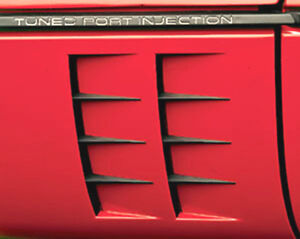 1984-1990 Corvette Side Port Louvers