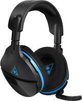 Turtle Beach Stealth 600 Wireless Headset for PS4 Console Black NO CORD