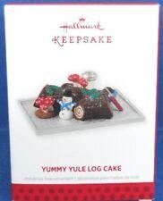 2013 Yummy Yule Log Cake Hallmark Retired Ornament