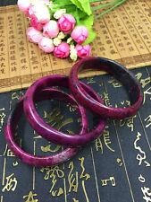 EPIC JADE- Natural Peach Blossom Hetian Agate Jade Bangle - Hand Carved Bracelet