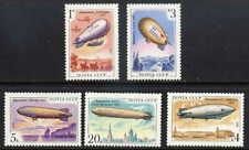 RUSSIA 1991 AIRSHIPS - GRAF ZEPPELIN - MINT SET OF FIVE