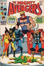 THE AVENGERS #68 Ultron Marvel Comics 1969 Very Fine VF