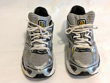 Saucony Progrid Guide 3 Mens 10.5 Running Shoes White Silver 20053-4 A2