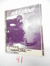 1999 Bombardier Ski Doo MINI Z Shop Service Manual 484 200 007