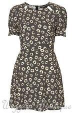 Viscose Short Sleeve Crew Neck Dresses Size Petite for Women