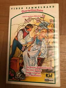 Dornröschen und4weitere Märchen/Erschienen1993Videokassette/Genre.Kinder-Familie