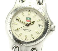 TAG HEUER S/el WG1212-K0 Ivory Dial Quartz Boy's Watch_570025