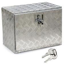 New Listing24' Aluminum Truck Tool Box Trailer Storage Underbody Tool Box w/Lock Used