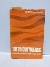1963 Thermodynamics An Introductory Text for Engineering Students 2nd Edition EX