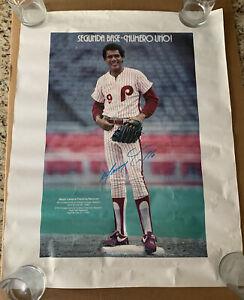 Manny Trillo Philadelphia Phillies Vintage 1980's Poster -Second Base - Segunda