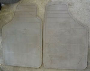GEO Metro rubber floor mats GREY 1989/94 rare OEM parts