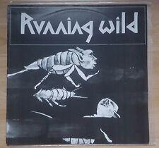 "RUNNING WILD BLACK DEMONS ON STAGE 12"" LIVE VINYL LP CROSSING THE BLADES SLAYER"