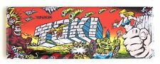 Toki Marquee FRIDGE MAGNET (1.5 x 4.5 inches) arcade video game header