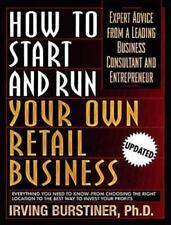 How to Start and Run Your Own Retail Business: Expert Advice from a-ExLibrary