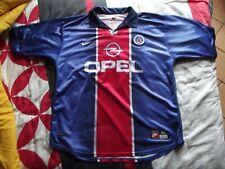 Maillot Foot vintage PSG saison 1998-99/Paris Saint Germain/Opel/Taille XL/TBE