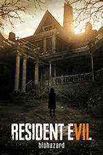 "RESIDENT EVIL 7: BIOHAZARD - GAMING POSTER / PRINT (GAME COVER) (24"" x 36"")"