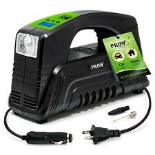 portable air compressor tire inflator 12v 110v electric car tire pump digital