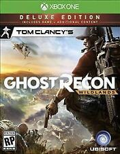 Tom Clancy's Ghost Recon: Wildlands -- Deluxe Edition (Microsoft Xbox One, 2017)