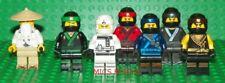 LEGO 70618 - Ninjago - Sensei Wu, Lloyd, Cole, Zane, Jay, Nya, Kai  Mini Figures
