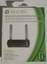 Microsoft XBOX 360 Black Dual Band Wireless N Network Internet Adapter WiFi
