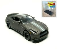 Majorette Nissan GT-R GTR Grey Diecast 1:61 214D no Package Free Display Box