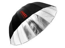 Jinbei Φ130 cm 16 Rods Parabolic Deep Umbrella Soft Reflector Black/Silver