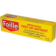 Foille Medicated First Aid Ointment 1 ounce.