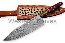 Damascus steel BLADE KITCHEN KNIFE/CHEF KNIFE MICARTA & PAKKA WOOD