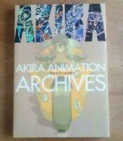 AKIRA ANIMATION ARCHIVES Art Work Storybords Book Katsuhiro Otomo Rare w/Track