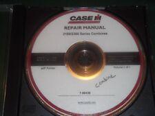 CUSTODIA 2100 2300 SERIES COMBINE SERVICE SHOP REPAIR MANUAL PDF CD DVD