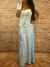 Abendkleid Dreiteiler Corsage Abschlussballkleid Maxikleid Kleid Gr, 40,42,44