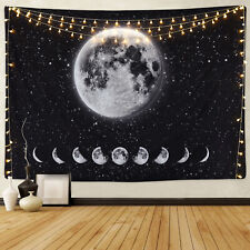 Moon Phase Tapestries Art Planet Wall Tapestry Wall Hanging Tapestry Home Decor