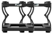 Fluid Audio DS5 Tischstativ 2 Stück Studiomonitor Höhenverstellbar Entkoppelung