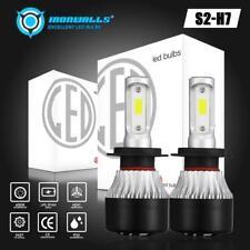 H7 LED Headlight Bulbs Conversion Kit 1320W 198000LM Headlamp 6000K Super White
