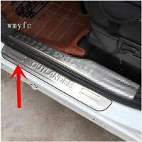 For 2009-18 MITSUBISHI OUTLANDER Car Door Threshold Trim Sill Scuff Plate Pedal