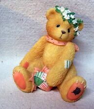 """Enesco Cherished Teddies Jasmine 1999 """"A Bouquet Of Blessings For You"""" #202940"""