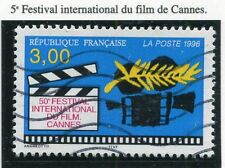 TIMBRE FRANCE OBLITERE N° 3040 FESTIVAL DU FIMS CANNES / Photo non contractuelle