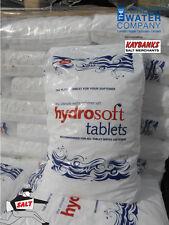 25kg Bags of Hydrosoft Tablet Salt for Water Softeners (HIGHEST QUALITY SALT)