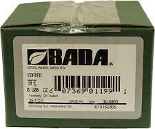 Bada TFE T Steel Wheel Weights .50oz. NEW