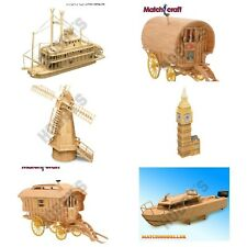 Matchstick Model Kits  NEW Many choices available 'Same Day Dispatch*