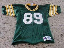 VINTAGE Green Bay Packers Mark Chmura Jersey Size Boys Medium 10-12 GUC