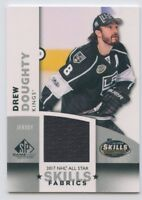 17/18 SP GAME-USED SPGU ALL-STAR SKILLS FABRICS JERSEY DREW DOUGHTY KINGS *51452