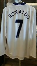 NWT Authentic Nike 2008-09 Manchester United Player Issue Ronaldo L/S Jersey XXL