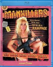 Mankillers Blu ray*Slasher Video*No Man Can Stop Them*Sealed/NEW*