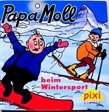 Pixi Buch 1567 - Papa Moll beim Wintersport - 1. Aufl. 2008- Bücher - Sammlung